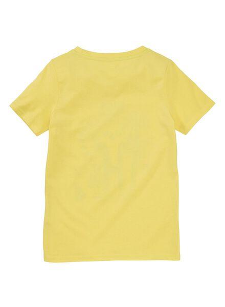 Kinder-T-Shirt gelb gelb - 1000012363 - HEMA