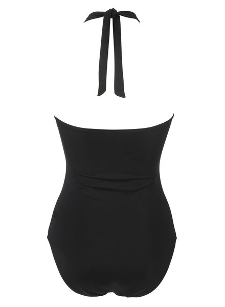 women's bathing suit padded black black - 1000006619 - hema
