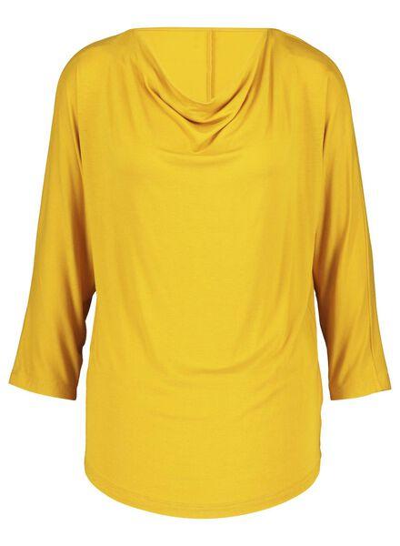 haut femme jaune jaune - 1000017077 - HEMA