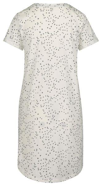 women's nightshirt off-white off-white - 1000018927 - hema