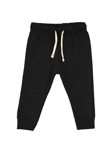 pantalon sweat bébé noir noir - 1000014706 - HEMA