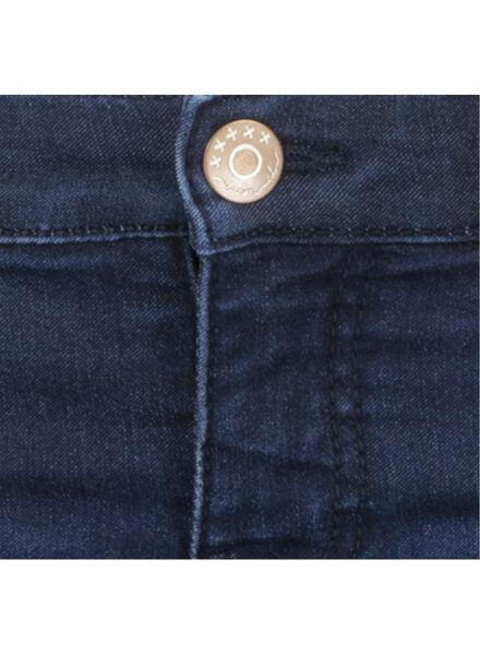 jean enfant - modèle skinny denim foncé denim foncé - 1000015453 - HEMA