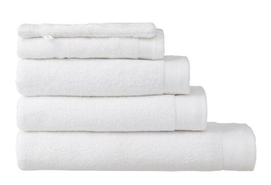 towel - 70 x 140 cm - bamboo - white white towel 70 x 140 - 5200109 - hema