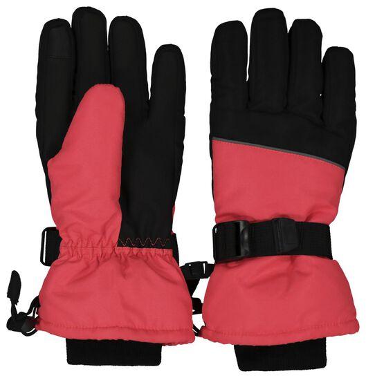 HEMA Kinder Skihandschoenen Roze (roze)