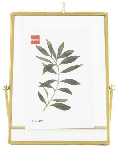cadre photo fourni avec support 15x20 - or - 13621004 - HEMA