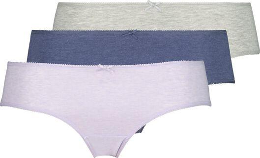 3-pack women's hipster panties multi multi - 1000020157 - hema
