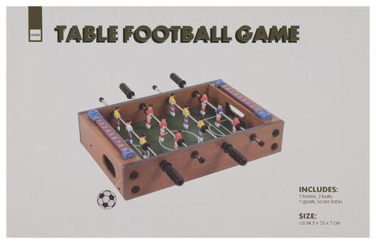 Tischfußball-Spiel, 34.5 x 23 x 7 cm - 61122354 - HEMA