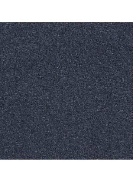 men's T-shirt dark blue dark blue - 1000006036 - hema