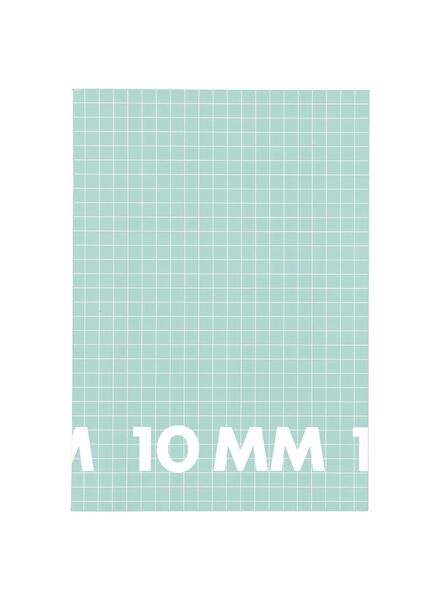 3 Hefte DIN A4, kariert 10 mm - 14101613 - HEMA