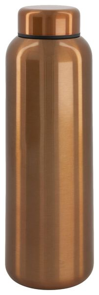 insulated bottle 450 ml stainless steel double-walled - 80640022 - hema