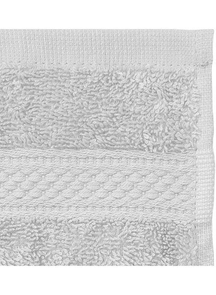 guest towel - 30 x 55 cm - heavy quality - light grey plain light grey guest towel - 5240206 - hema