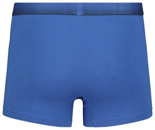 2-pack men's boxer shorts short real lasting cotton blue blue - 1000018785 - hema