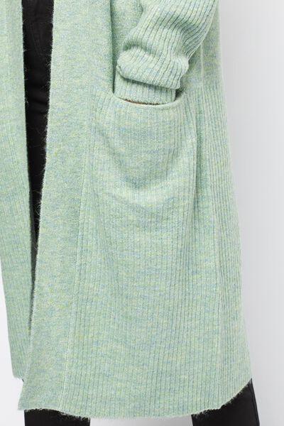 Damen-Strickjacke hellgrün hellgrün - 1000021330 - HEMA
