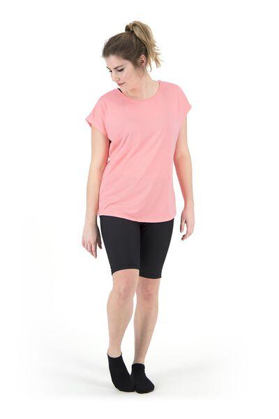 women's sports shirt loose fit pink pink - 1000018826 - hema