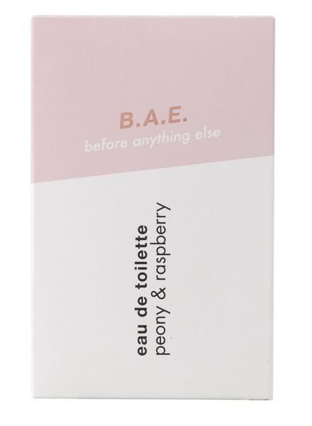 B.A.E. eau de toilette peony and raspberry 50ml - 17730001 - HEMA