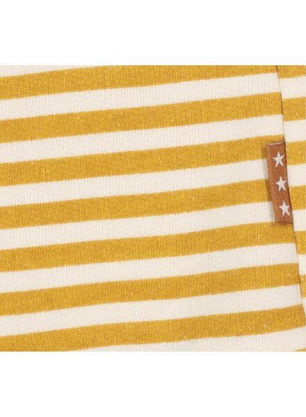 pantalon nouveau-né jaune jaune - 1000017301 - HEMA