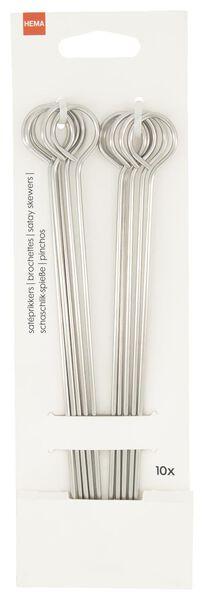 Image of HEMA 10 Satay Skewers Stainless Steel