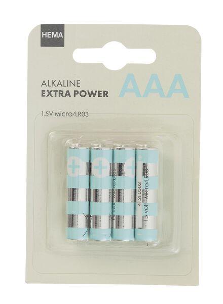 4 piles AAA - 41210503 - HEMA