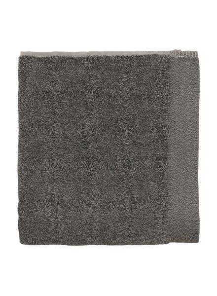 serviettes de bain - avec bambou gris foncé gris foncé - 1000015123 - HEMA