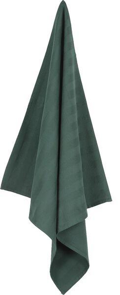 torchon 65 x 65 cm essuie de cuisine vert - 5410036 - HEMA