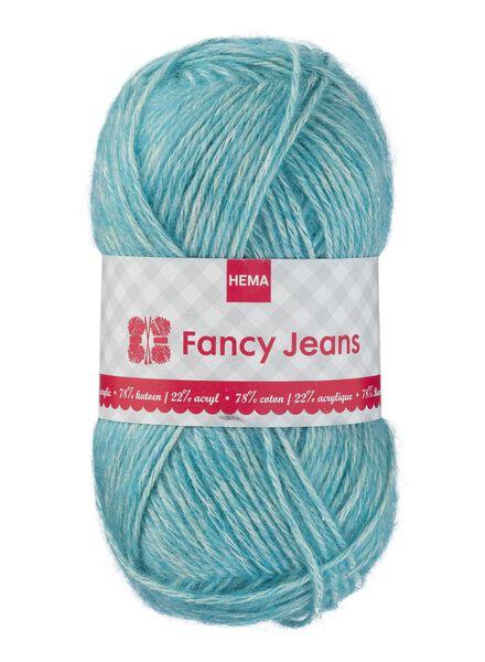 Strickgarn Fancy Jeans - türkis - 1400163 - HEMA