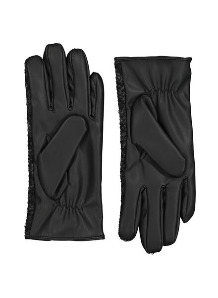 gants femme touchscreen noir noir - 1000014510 - HEMA