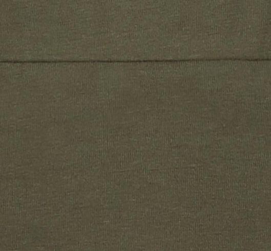 jupe femme en coton bio olive olive - 1000019217 - HEMA