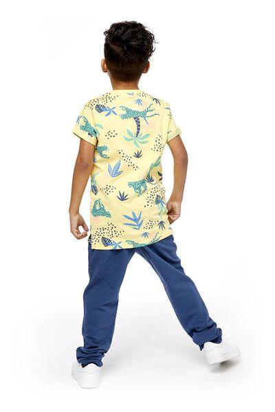 children's T-shirt yellow yellow - 1000018859 - hema