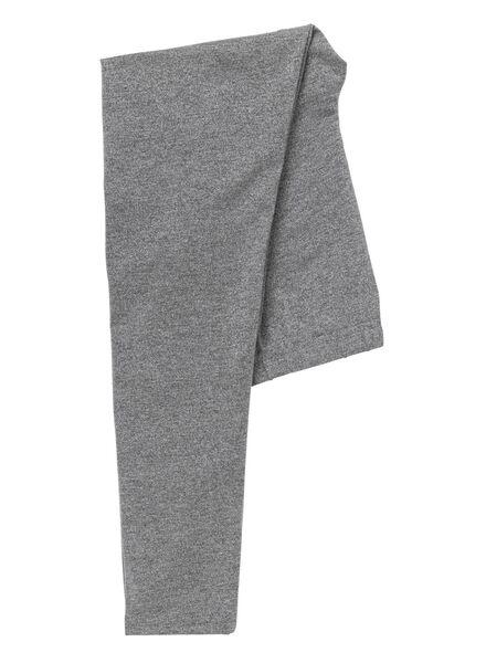 children's leggings grey melange grey melange - 1000006221 - hema