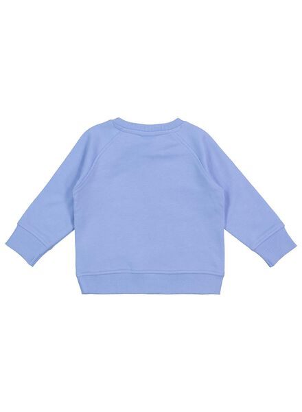 Baby-Sweatshirt blau blau - 1000017502 - HEMA