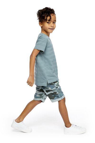 children's T-shirt blue blue - 1000019512 - hema