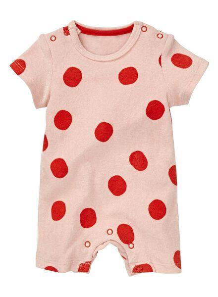 HEMA Baby Jumpsuit Hellrosa