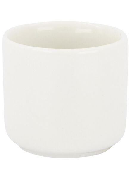 coquetier - 5 cm - Rome - new bone - blanc - 9602046 - HEMA