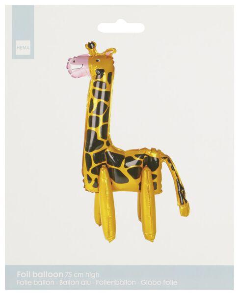 Folienballon Giraffe, 75 cm - 14230292 - HEMA