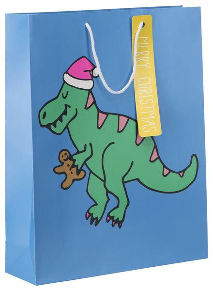 sac à cadeaux 64x50x16 dinosaure - 25700091 - HEMA