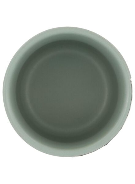 pot de fleurs Ø 6,5 cm - céramique - vert - 13392061 - HEMA