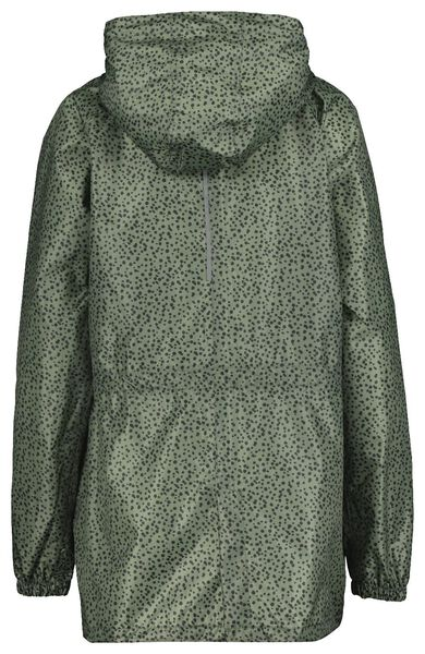 women's raincoat lightweight army green army green - 1000019705 - hema