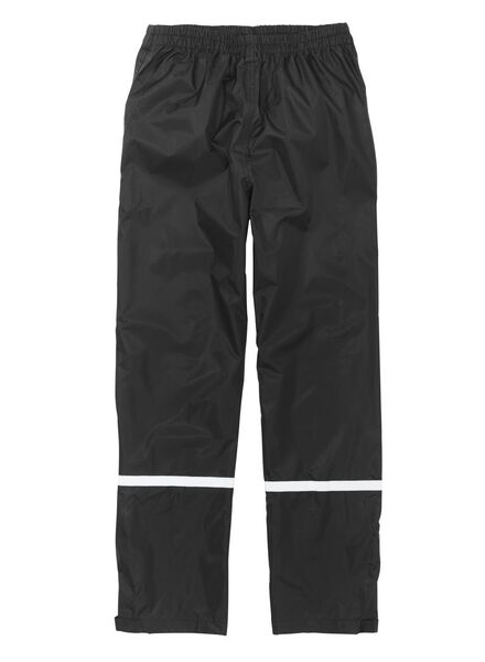 foldable unisex rainproof trousers black M - 34460022 - hema