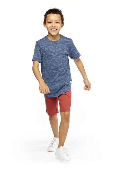 children's shorts comfy fit dark red dark red - 1000018941 - hema