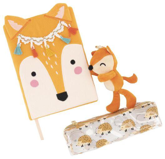 ensemble cadeau accessoires d'écriture 3 éléments animaux - 14802916 - HEMA