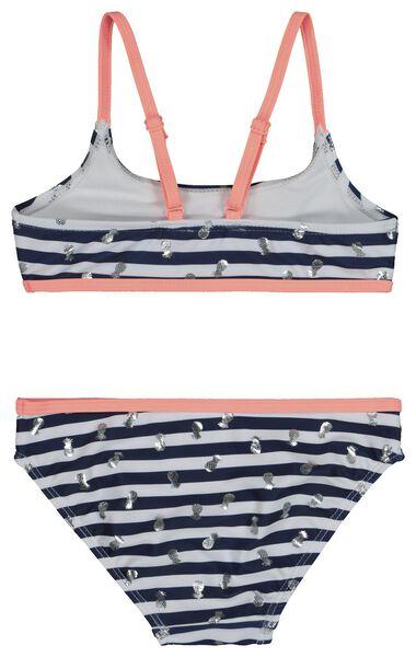 Kinder-Bikini dunkelblau dunkelblau - 1000018809 - HEMA