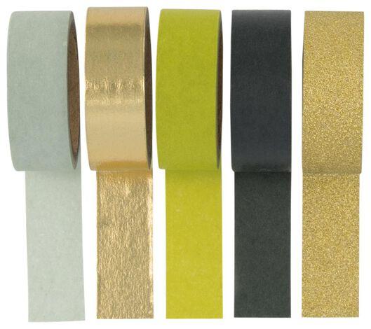 5 washi tape rolls - 14126666 - hema