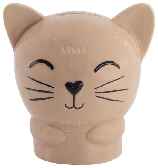 Image of HEMA Money Box 11x11x10 - Ceramic Cat