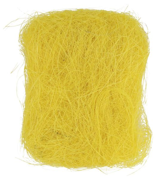 gazon décoratif jaune 30 grammes - 25810062 - HEMA