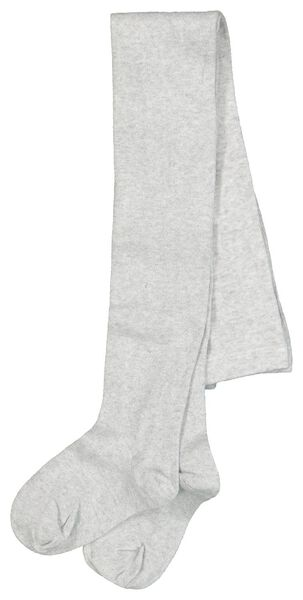 Kinder-Strumpfhose mit Glitter silber silber - 1000020502 - HEMA