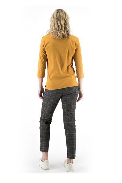 Damen-Shirt ocker ocker - 1000018271 - HEMA