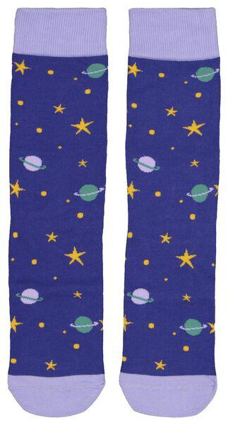 Socken, Größe 36-41, Universum - 61122833 - HEMA