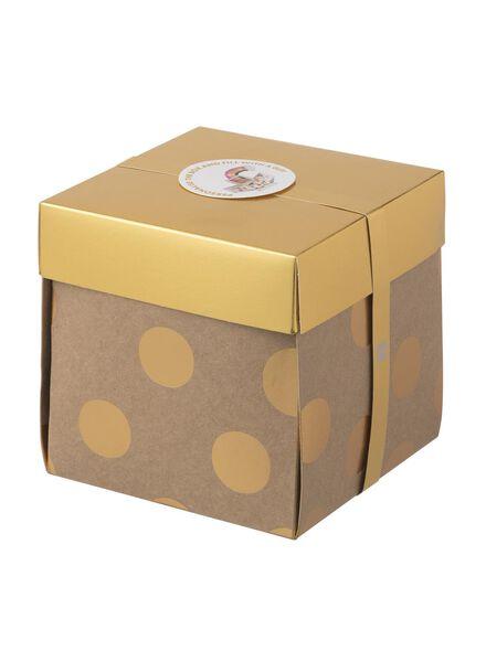 Überraschungs-Schachtel, groß, 15 x 15 x 15 cm - 60800612 - HEMA