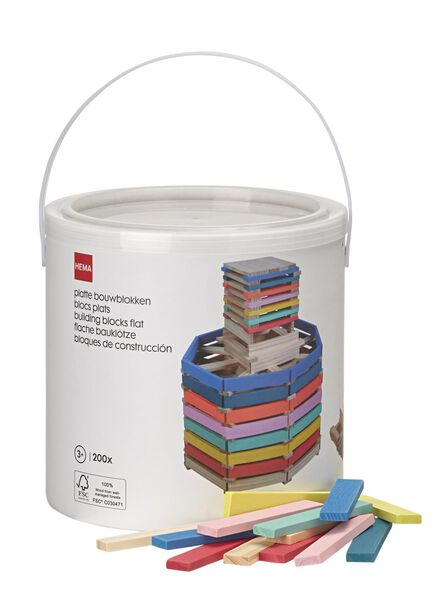 flat building blocks - 15190189 - hema