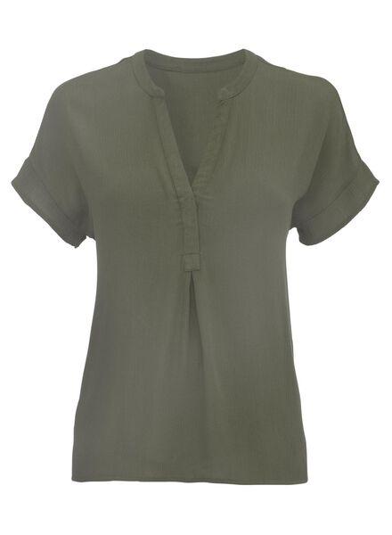 women's blouse army green army green - 1000007772 - hema
